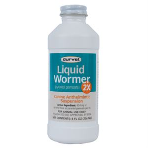 Liquid Wormer for Dogs, 8 oz.
