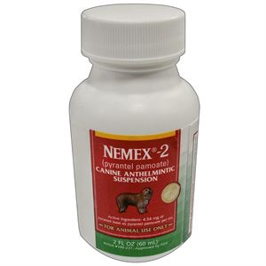 Nemex-2 Oral Liquid Wormer for Dogs, 60 CC