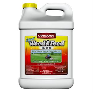 Gordon Liquid Weed and Feed Jug