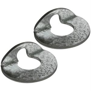 Category 1 Bent Washers, 2 Pk.