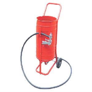 Siphon Feed Roll About Sandblaster Lb Capacity