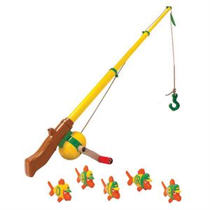 John Deere Fun Toy Fishing Pole