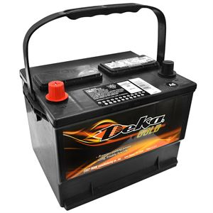 Deka Wet Charge Auto Battery, 12 Volt, 590 CCA