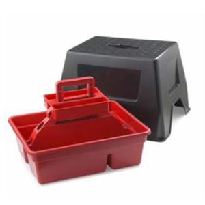 Dtss Red Dura Tote Stool