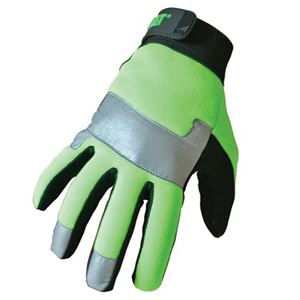 Cat High Visibility Padded Palm Utility Large
