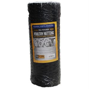 Vinyl Coated Poultry Netting, 1 x 36