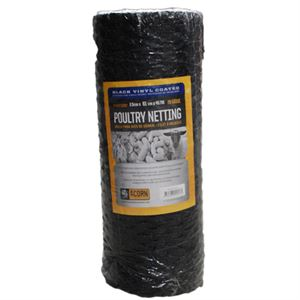 Vinyl Coated Poultry Netting, 48 In. H X 150 Ft. Roll