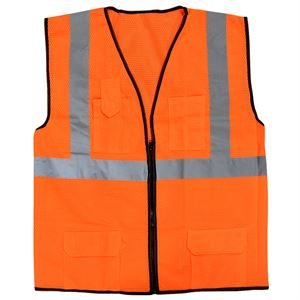 Orange Construction Safety Vest