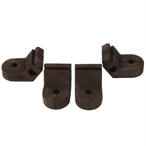 Pump Foot 4 Pack, for 1.0 & 2.1 GPM Pumps