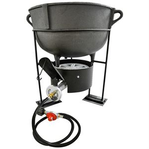 Carolina Cooker 10 Gallon Stew Pot, 1113,000 BTU Burner
