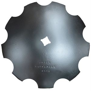 Notched Disc Blade