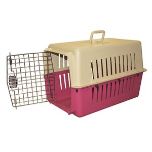 Dog Travel Carrier, 30 In. x 24 In. x 24 In.