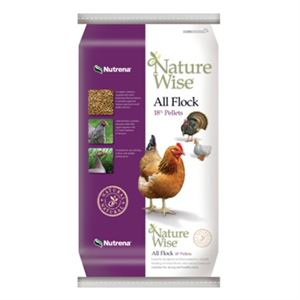 NatureWise® All Flock Poultry Feed, 40 Lb.