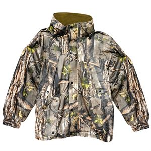 Mens Waterproof Camo Jacket, Medium