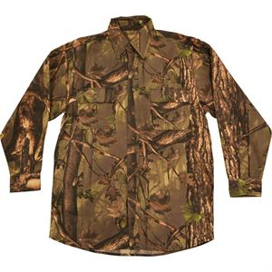 Mens Camo Hunting Shirt, Medium