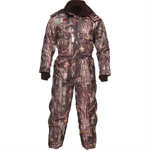 Insulated Camo Coveralls, Waterproof, Medium