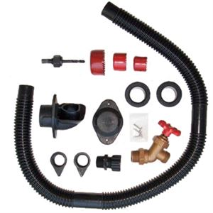 Do-It-Yourself Rain Barrel Diverter and Parts Kit