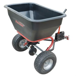 ATV Tow Behind Broadcast Spreader, 200 Lb Capacity