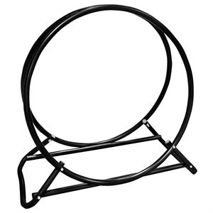 Firewood Log Rack, 24 In. Diameter Hoop