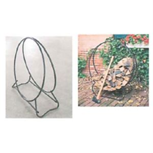 Firewood Log Rack, 40 In. Diameter Hoop