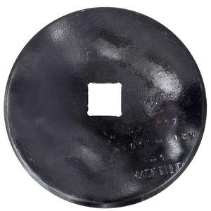 10 X 3MM Plain Disc 1-1/2 SCH 5/8 CONC