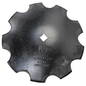 18 in X 4.5MM Notch Disc 1-1/8 in SCH 1-3/4 in CONC