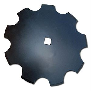 Notched Disc Blade, 20 x 3.5 MM with 1-1/8 SCH, 2-1/4 Concavity
