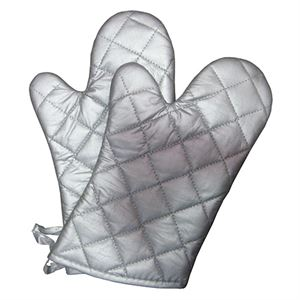 Silicone Oven Mitts, 2 Pack