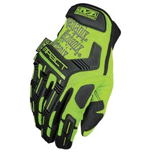 Mechanix® Safety M-Pact Glove, Fluorescent, Large
