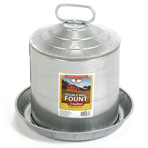 Poultry Waterer, 2 Gallon