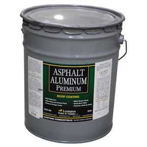 premium aluminum asphalt roof coating 5 gallon agri supply 81752. Black Bedroom Furniture Sets. Home Design Ideas