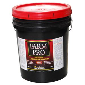 Farm Pro Red Acrylic Latex Fence and Barn Paint