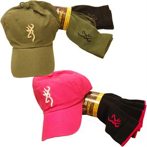 Browning® Hat and 2 Pairs of Socks Set