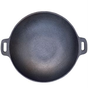 Carolina Cooker® Cast Iron Wok, 20 In.