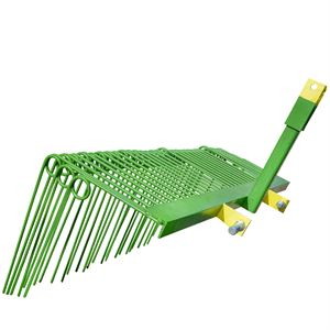 Pine Straw Rake for 3-Point Hitch, 5 Foot