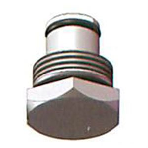 Closed Center Plug