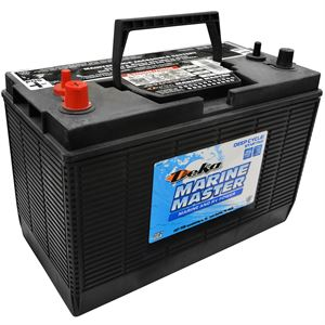 Marine and RV 12 Volt Battery, 700 CCA