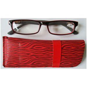 Reading Glasses Red 1.00