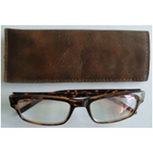 Reading Glasses Brown 1.25