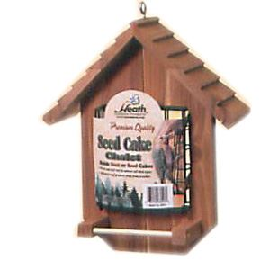 Seed Cake Chalet Feeder