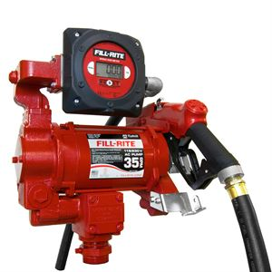 Fill-Rite Fuel Transfer Pump, 115 Volt AC, 35 GPM