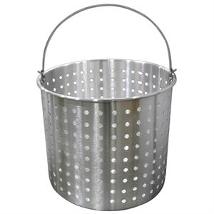 Aluminum Strainer Basket, 12 In. Diameter x 12 In. Tall