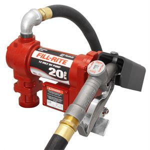 FILL-RITE Fuel Transfer Pump, FR4210G, 12 Volt DC, 20 GPM