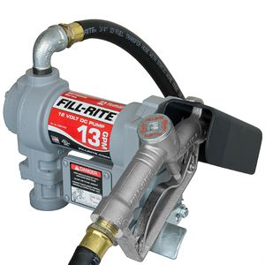 Fill-Rite ® Fuel Transfer Pump, SD1202G, 12 V DC, 13 GPM