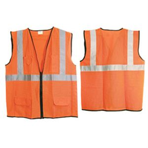Class 2 Hi-Viz Orange Surveyors Vest, XXL