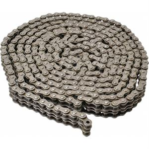Agmate ® Roller Chain, Double, Chain Size 50-2, 10 Ft. Long