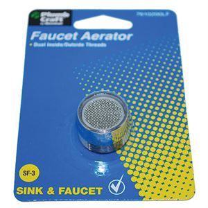 Bubble Flo Dual Thread Aerator Lead Free