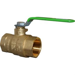 "1"" IP Ball Valve Full Port Lead Free"