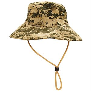 Digital Camo Fishing Hat, 100% Cotton, OSFM