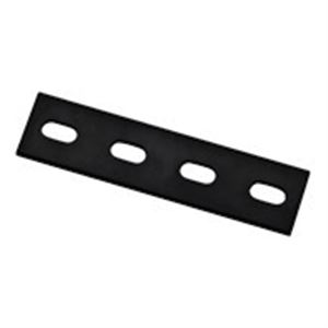Steel Mending Plate, Black, 24 In. x 1-1/2 In. x 1/4 In.